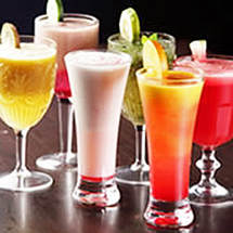 Various cocktail drinks